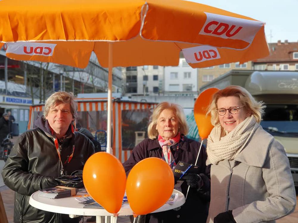 Infostand Birgit Stoever